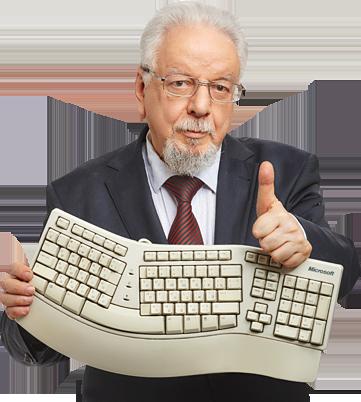 Ten finger typing learn online